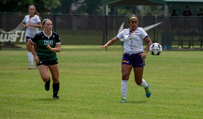LSU Eunice raced out to an early two goal lead and held on to score a 2-2 draw with Delta State to open the Inaugural Regular Season for the Bengal soccer program.