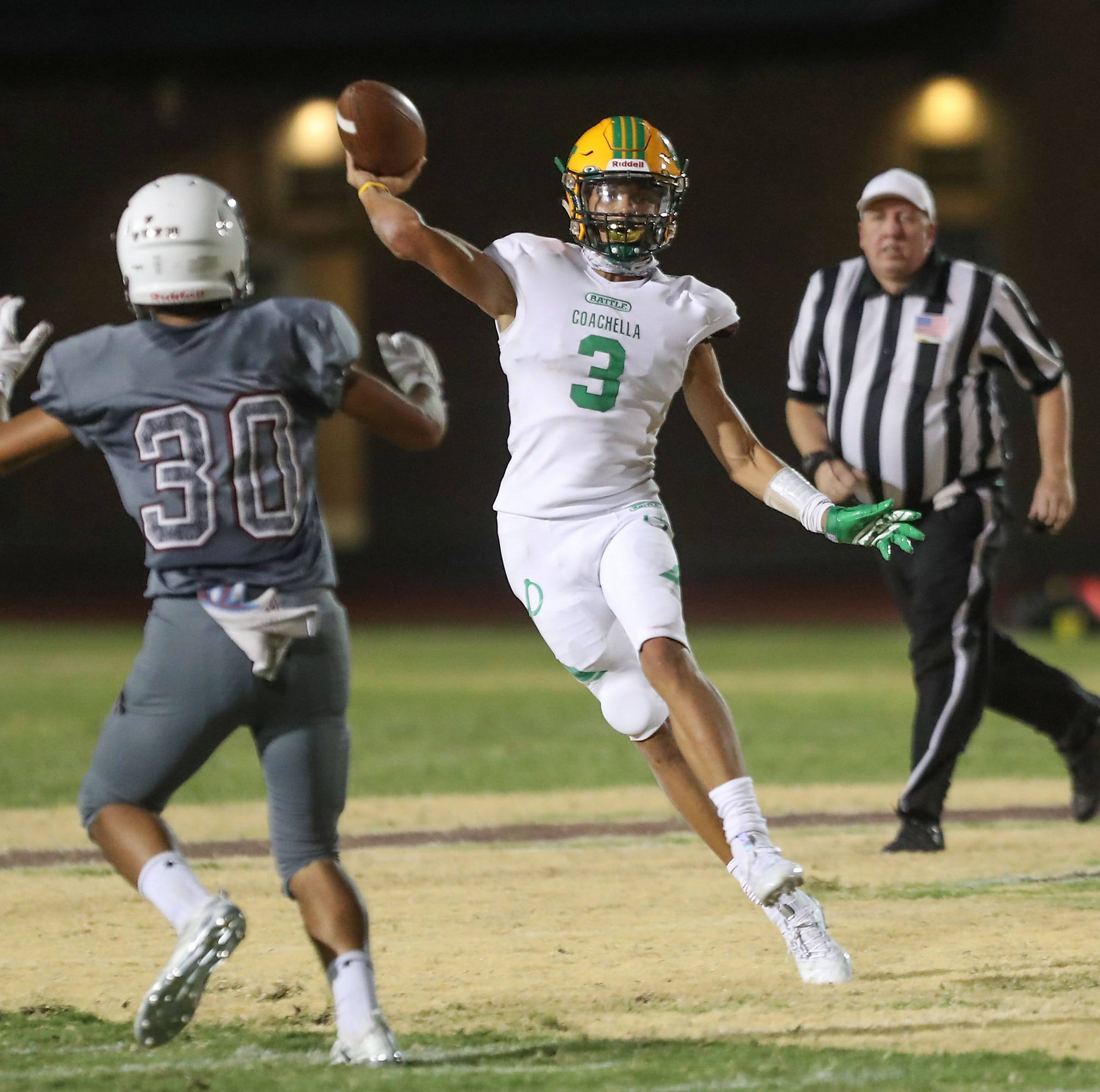 Coachella Valley High School athlete Donny Fitzgerald featured in Sports Illustrated