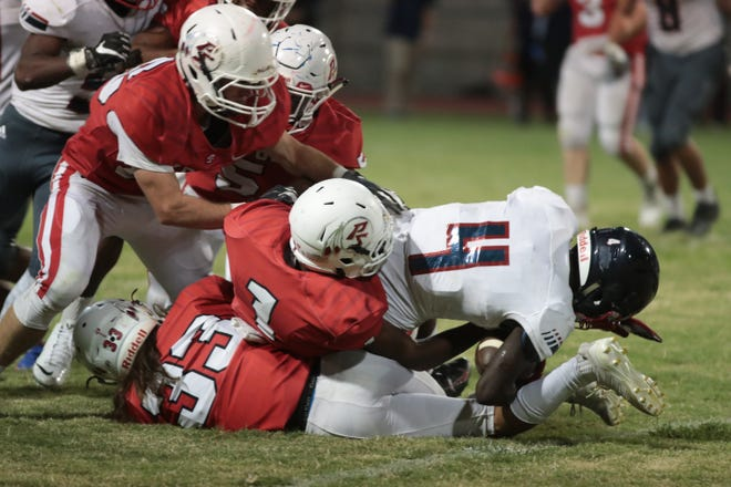 Palm Springs football loses to Citrus Hill at Palm Springs High School, Friday, August 24, 2018.