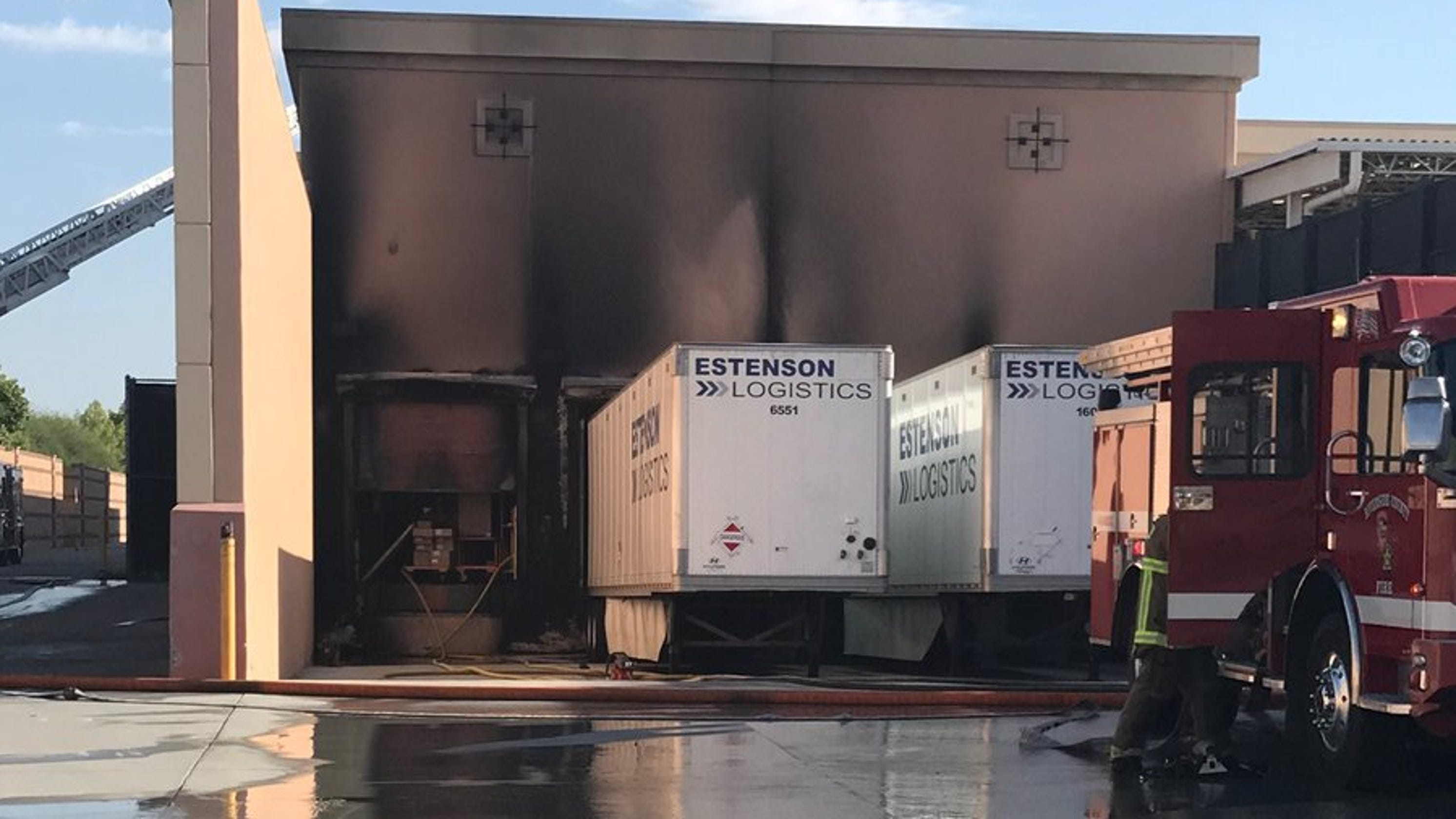 Indio Home Depot Loading Docks Scene Of Fire No Injuries Reported