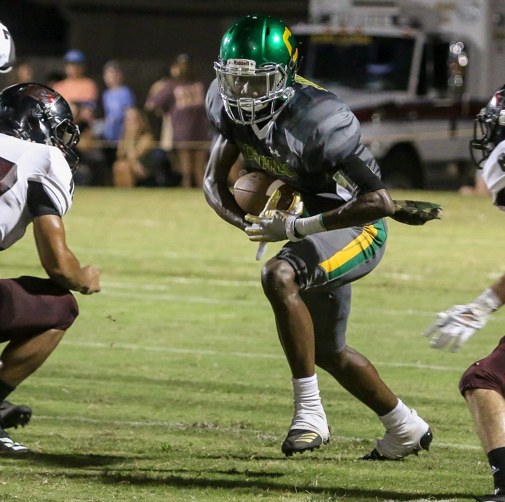 Pensacola Catholic's Damarius McGhee thrives after medical scare