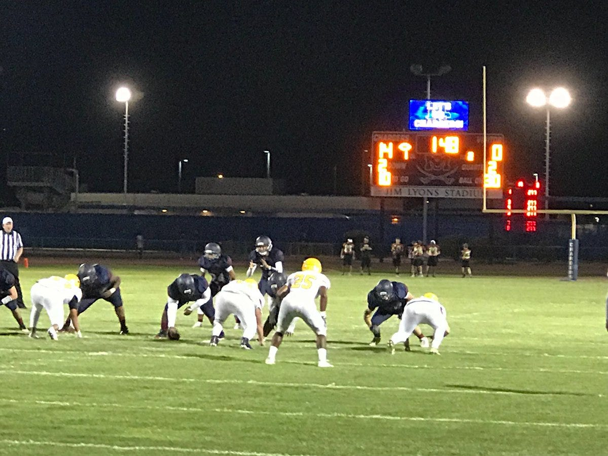 Tempe rivals McClintock and Marcos de Niza battle on Friday night.