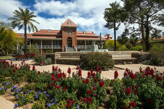 Old Main is shown at the University of Arizona campus.