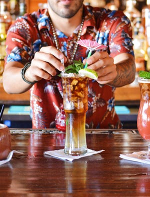 Mix it up at O'Riley's annual Bartender Championship on Sunday.
