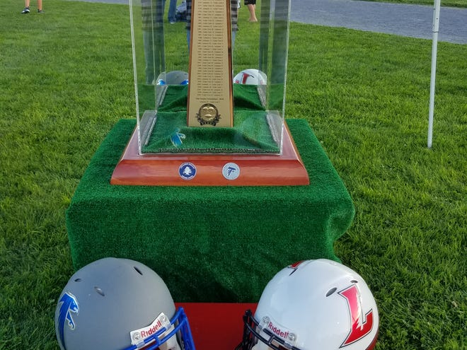 In addition to bragging rights, Lebanon and Cedar Crest will be battling for the Cedar Bowl trophy in the 48th edition of their crosstown football rivalry Friday night.