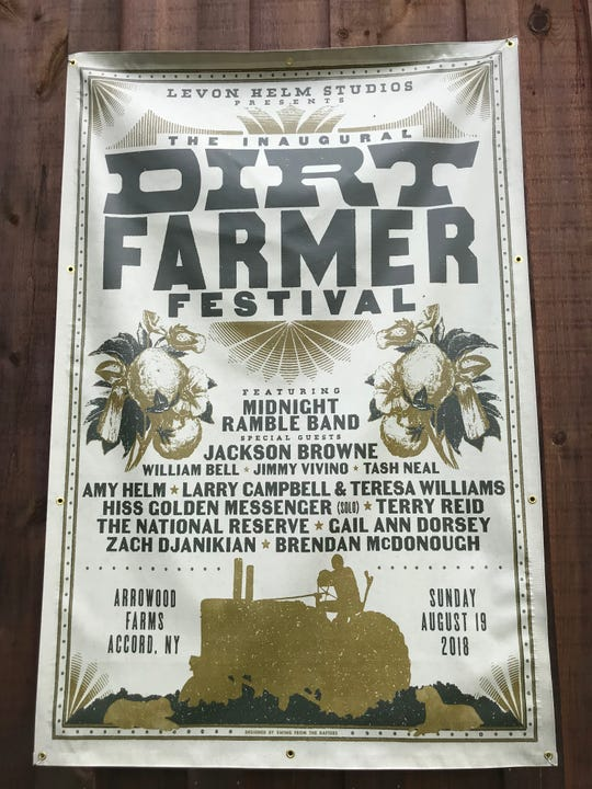 The inaugural Dirt Farmer Festival was held Aug. 19, 2018, at Arrowood Farm Brewery in Accord, Ulster County.