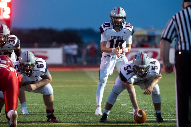 New Oxford hadn't won a football game for two full seasons before a victory in Week 2 against Conestoga Valley.