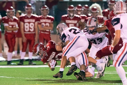 The Colonials started the season losing to rival Bermudian Springs in a tight game that ended on a controversial call.