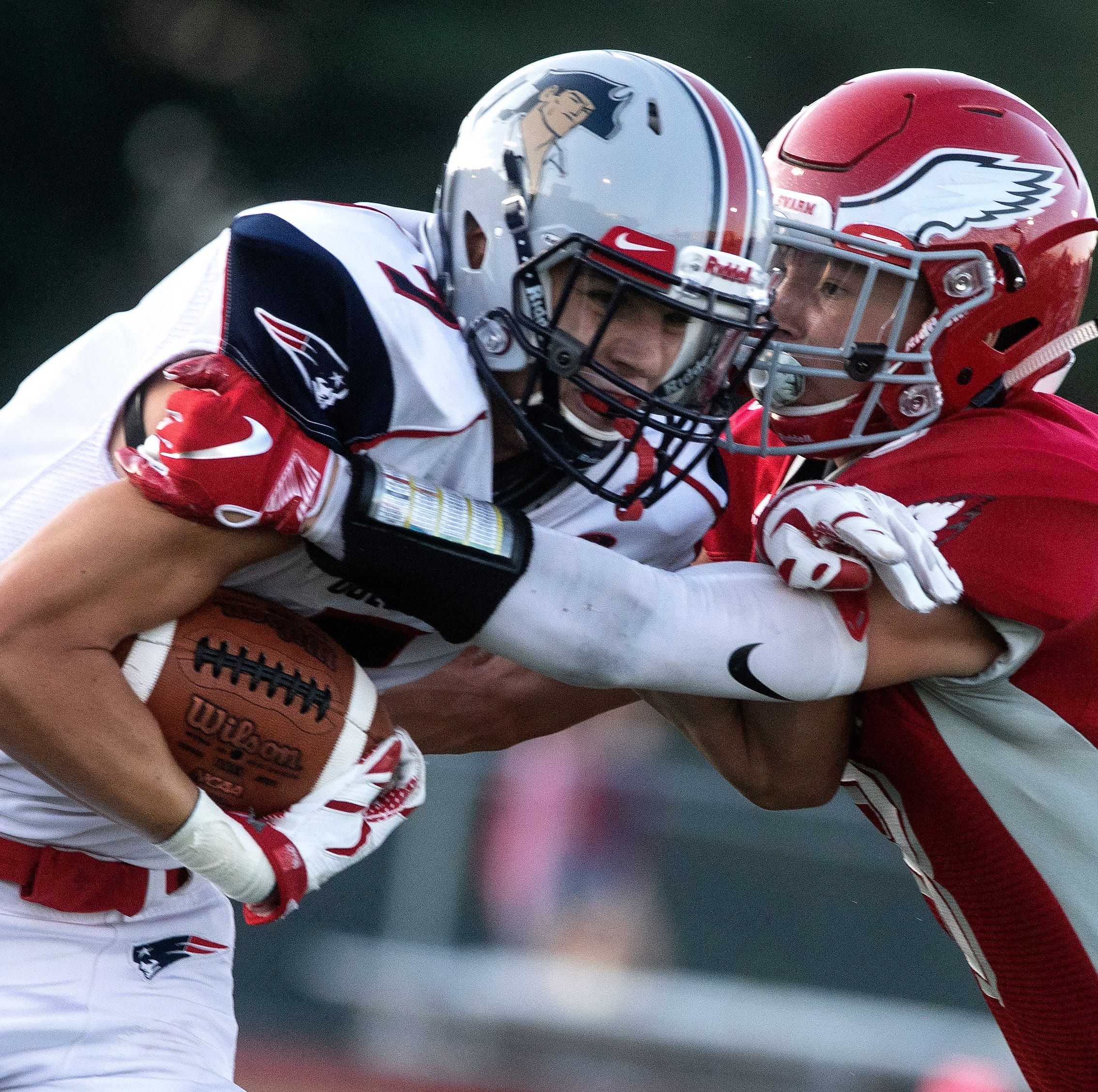 After season lost to injury, New Oxford football player commits to Division I college