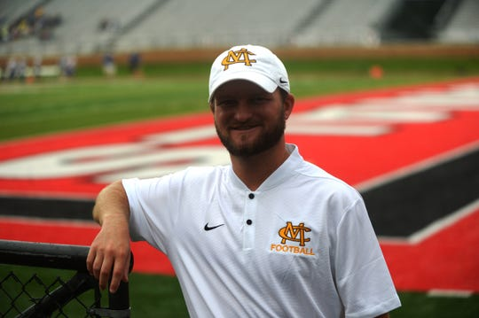 Monroe Central athletic director Tilmon Clark, a graduate of Winchester High School and Earlham College, returned to Ball State University where he spent five years as a member of the football team's coaching staff.
