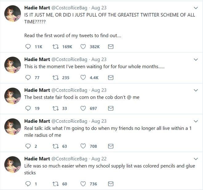 """Hadie Mart's first lines of """"Bohemian Rhapsody"""" in tweet form"""