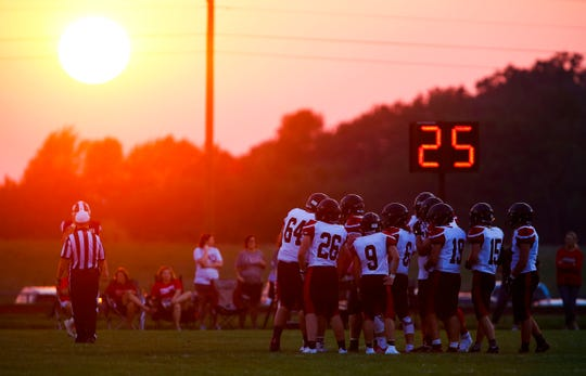 The Lamar Tigers took on the Logan-Rogersville Wildcats at Logan-Rogersville on Friday, Aug. 24, 2018.