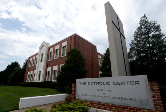 The Catholic Center of the Diocese of Springfield-Cape Girardeau on Saturday, Aug. 25, 2018.