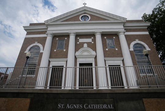 St. Agnes Cathedral on Saturday, Aug. 25, 2018.