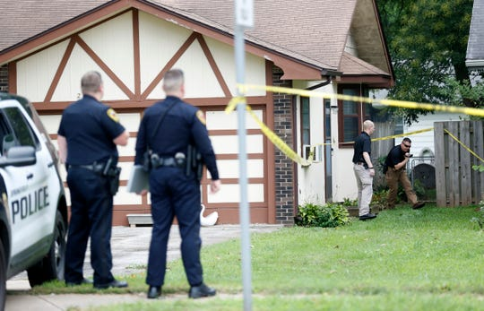 Springfield police are investigating what they believe to be a homicide at a home on South Fremont Avenue on Saturday, Aug. 25, 2018. According to police, they were called around 8 a.m. on Saturday to check the well-being of someone in the 2600 block of South Fremont and found a woman in her mid-'30s deceased.