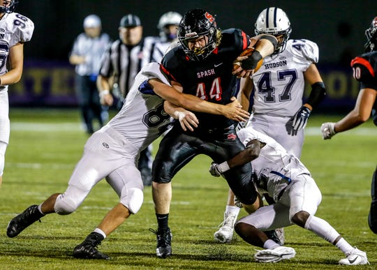 SPASH do-everything player Jack Kelly was asked to move to running back by Panthers coach Pete McAdams to fill a huge need during his senior season and he replied with 721 yards and seven touchdowns.