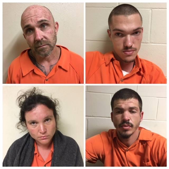 Tyler Lollis, Roger Slaughter, Sabrina Slaughter and Michael Hale