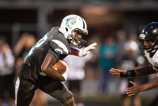 Jensen Beach plays against South Fork during the high school football game Friday, Aug. 24, 2018, at Jensen Beach High School.