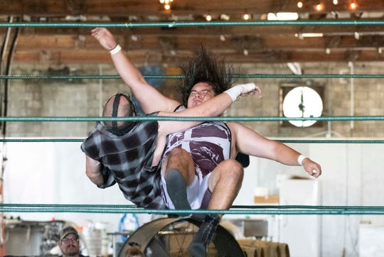 IGNITE Wrestling's Ready for War pro wrestling invitational was held on Saturday, August 25, 2018, at Walking Tree Brewery in Vero Beach.