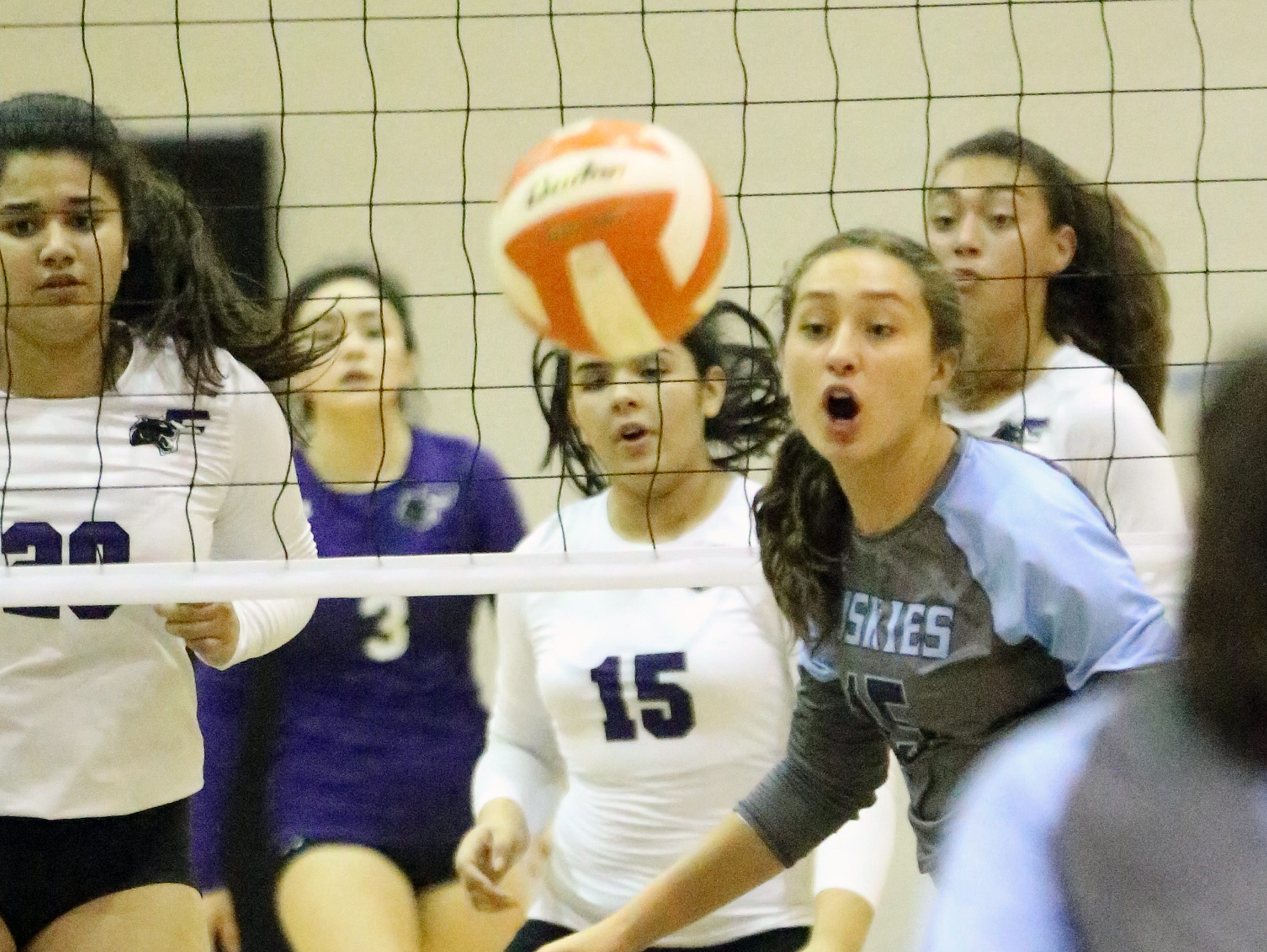 Franklin hosted Chapin in the championship game of the Margaret Hussman tournament Saturday.