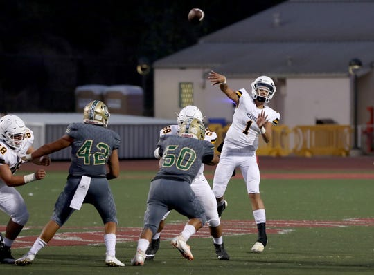Quarterback Carson Willis and Ventura hope to add to their winning streak against rival Buena.