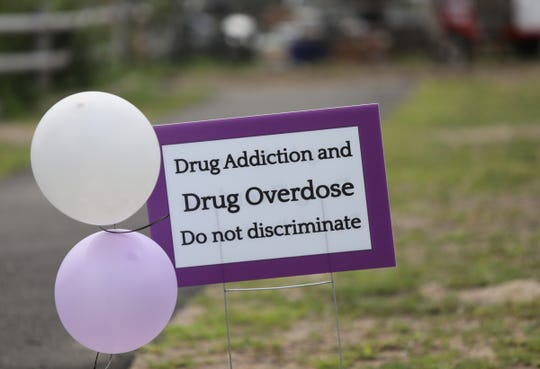 Rockland County Overdose Awareness Day event at Nyack's Memorial Park on Saturday, August 25, 2018.
