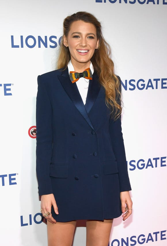 Blake Lively dresses herself people, and she looks divine.