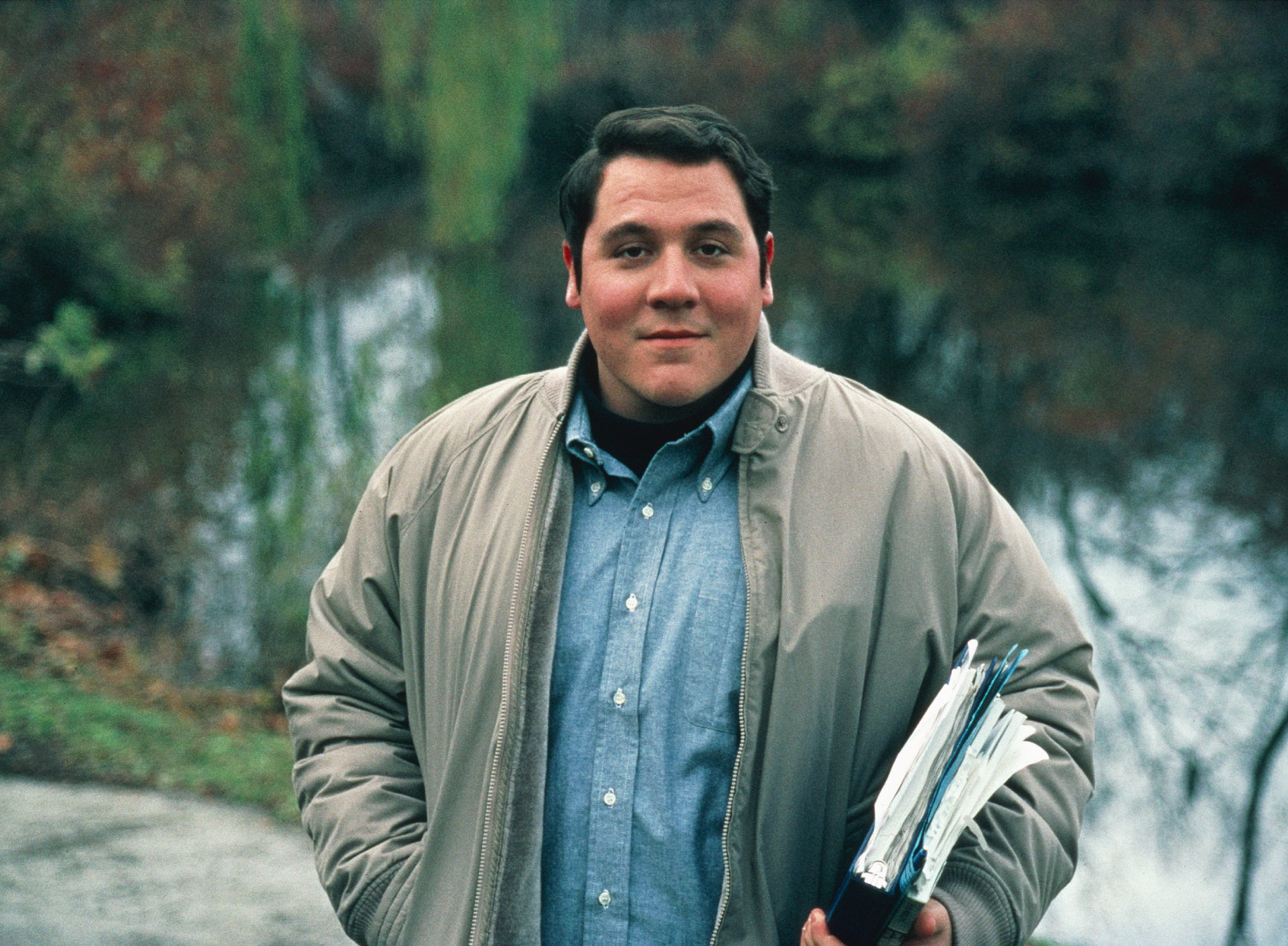 "Jon Favreau starred as the supportive tutor D-Bob in ""Rudy."""