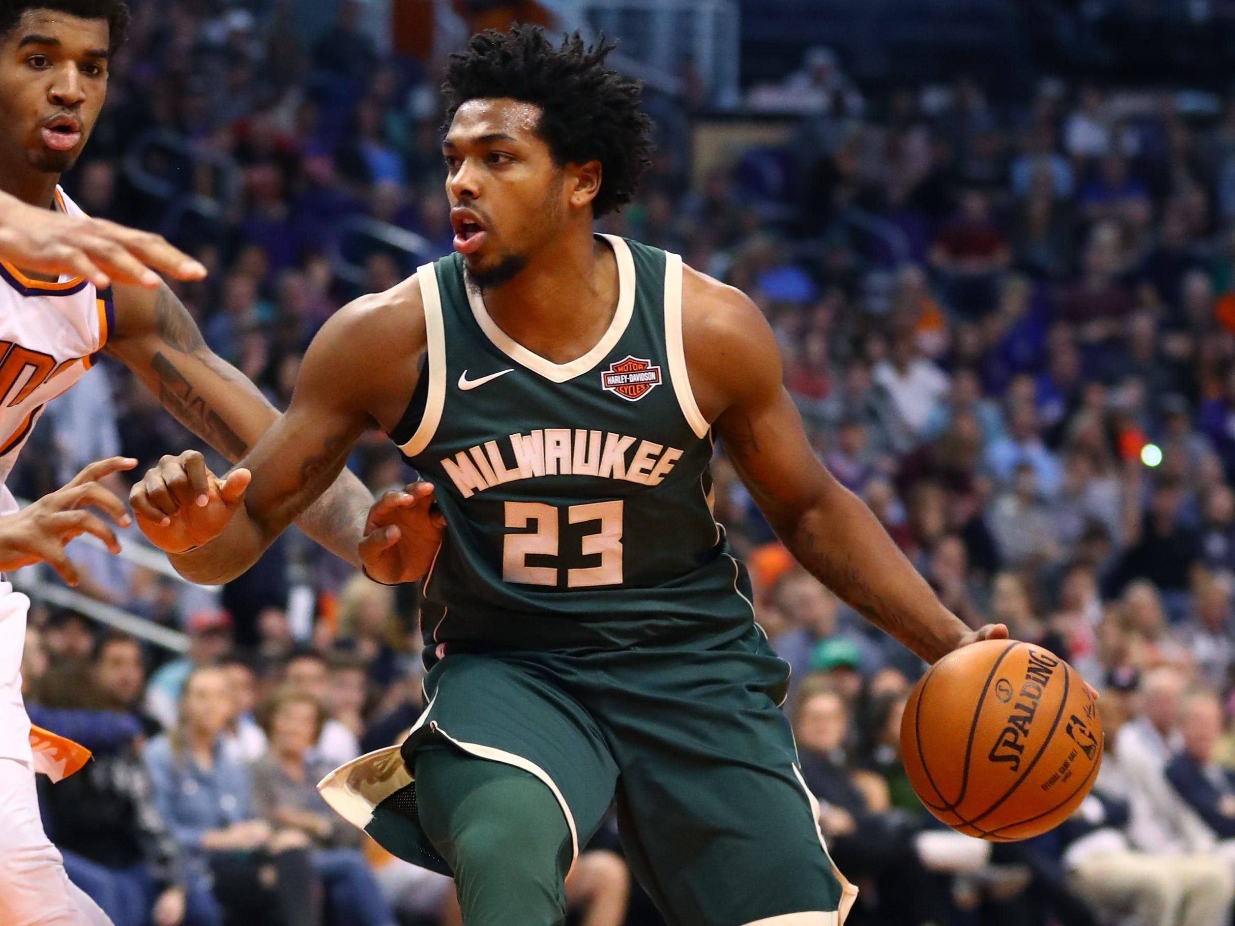 One officer involved in the arrest of the Milwaukee Bucks' Sterling Brown fired