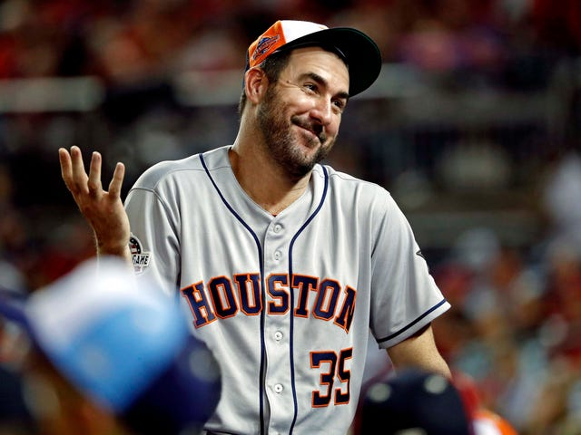 buy popular 805c3 d1139 Justin Verlander pranked with $1M lunch bill for being a ...