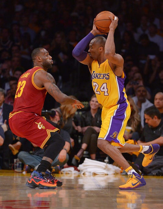 save off 468d4 ac9dd Usp Nba Cleveland Cavaliers At Los Angeles Lakers S Bkn Usa Ca. Kobe Bryant  ...