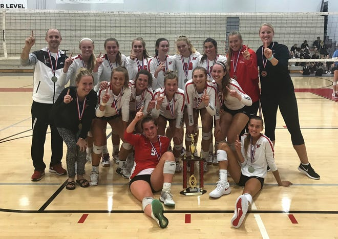 The Neenah girls volleyball team took first place at The Joust in Mequon.