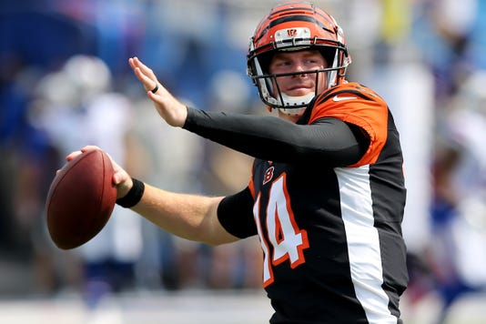 Cincinnati Bengals At Buffalo Bills Preseason Game Aug 26