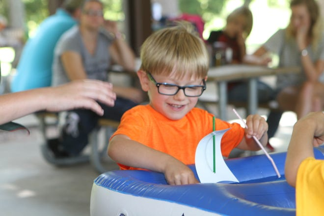 Woodlawn's Cub Scout Pack 522 held an awards ceremony and its first Raingutter Regatta at Eagle's Rest Pavilion on Saturday.