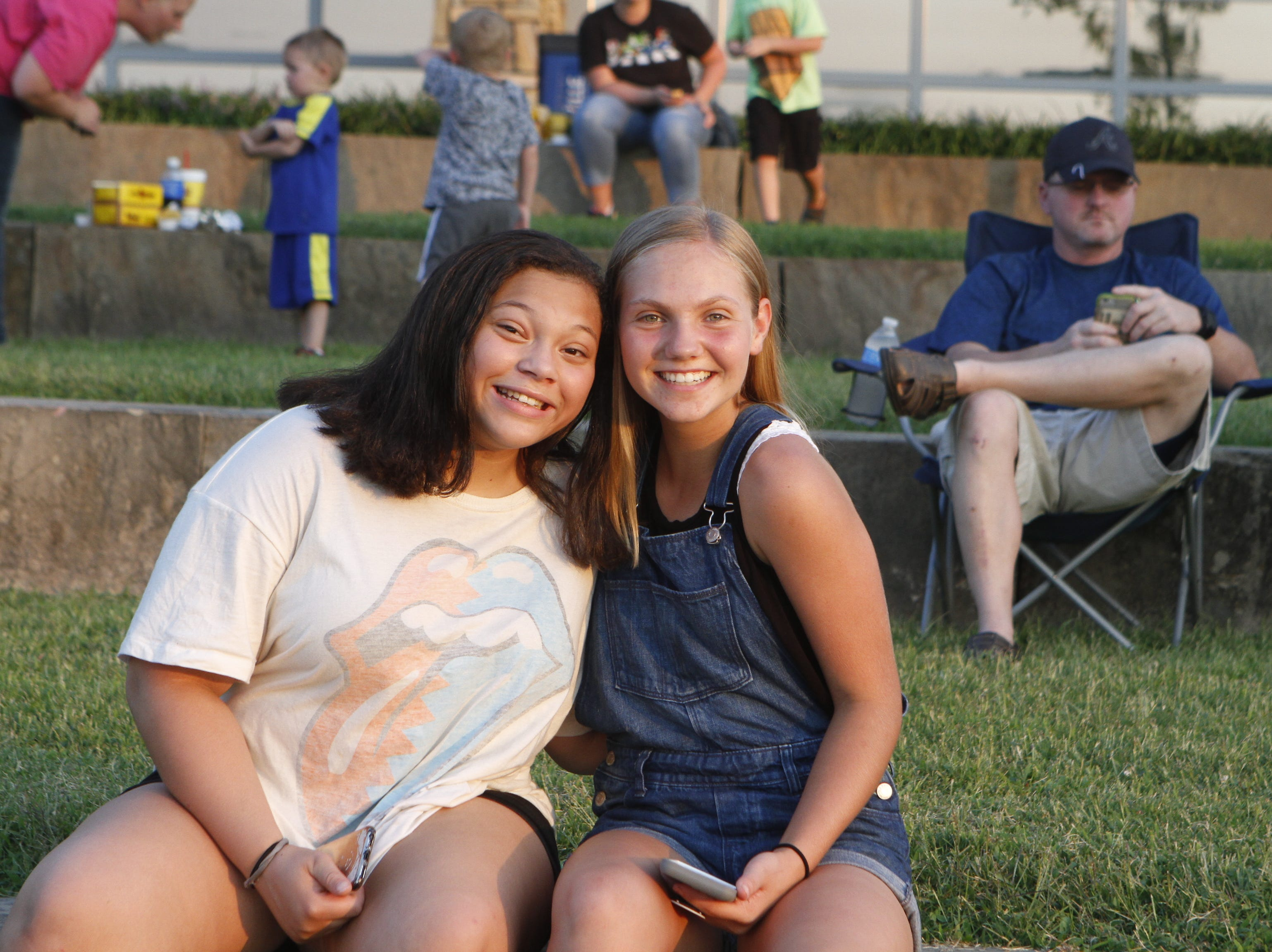 Saved By The Music: The Ultimate 90's Experience performed at Saturdays Road to Riverfest, a Liberty Park summer concert series event.