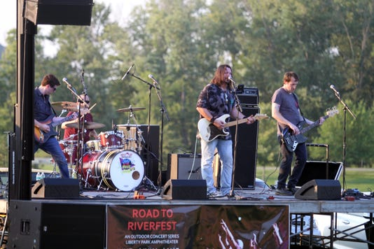 Saved By The Music Performed For Saturdays Road To Riverfest At Liberty Park 14