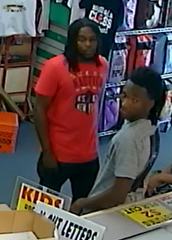 Detroit police are seeking two persons of interest in a Saturday shooting.