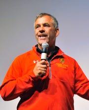 Ferris State University football coach Tony Annese