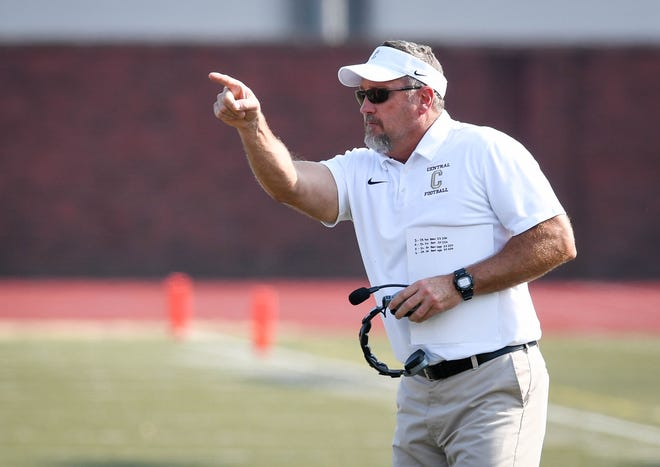 First-year Central coach Troy Burgess hopes to direct the Bears to victory in a battle of unbeatens against Memorial Friday at Central Stadium.