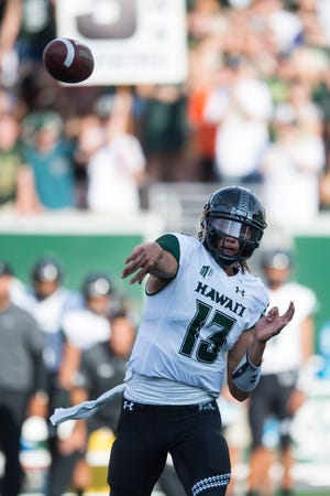 Quarterback Cole McDonald and Hawaii have followed up their season-opening win at CSU with victories at home the past two weekends over Navy and Rice to improve to 3-0 for the first time since 2007. The Rainbow Warriors are up to No. 2 in our weekly Mountain West power ratings and received votes this week in both major Top 25 polls.