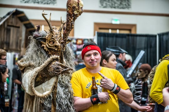 Indy's HorrorHound Weekend brought many celebrated celebrities and a motley crew of horror fans out to the JW Marriott on Aug. 25, 2018