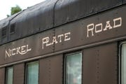 A passenger train car, which has drawn the curiosity of residents and passersby recently, is seen on the Nickel Plate tracks near Logan Street and 8th Street in downtown Noblesville, Wednesday, Aug. 22, 2018. The 70-foot-long passenger rail car from 1929 is on loan to the Nickel Plate Express, but the train operator doesn't have anywhere to put it yet. It will be parked on the square until at least December and and then taken to a storage yard in Arcadia.