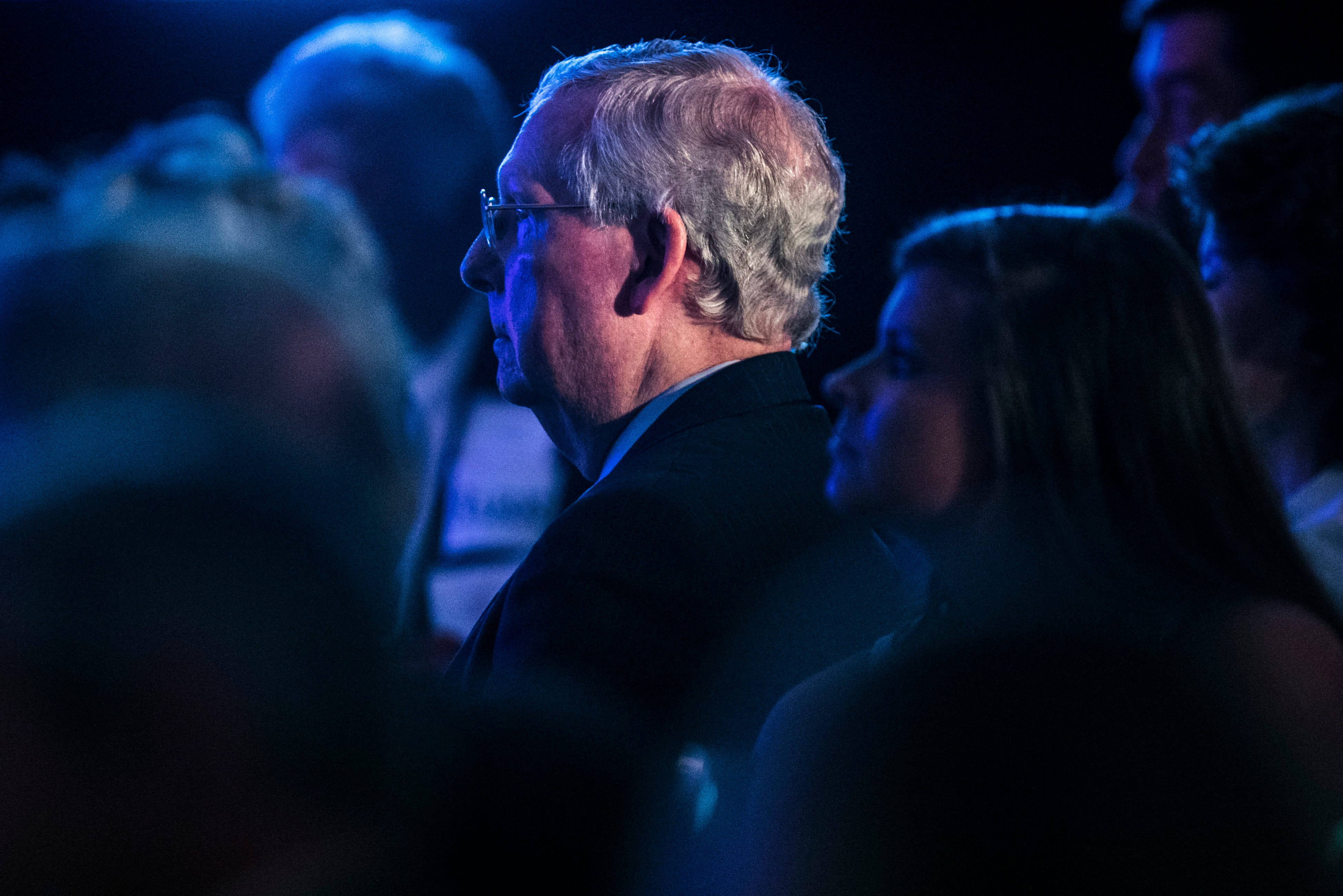 Where's Mitch? McConnell keeping his head down during historic shutdown