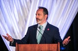 """Here are some of the points Gov. Matt Bevin made during recent stops on his """"community forums"""" tour."""