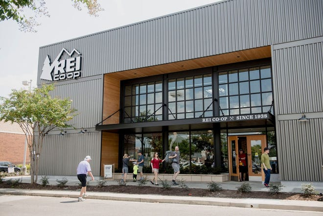 REI opened to customers in Memphis on Aug. 24. The store takes up about half of the former Sports Authority space inside Ridgeway Trace.