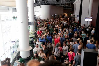 The public got a chance Sunday to see inside the new Fiserv Forum, home of the Milwaukee Bucks.