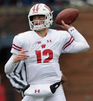 UW quarterback Alex Hornibrook expects redshirt sophomore receivers Adam Krumholz and Jack Dunn  to be able to make some plays if called upon.