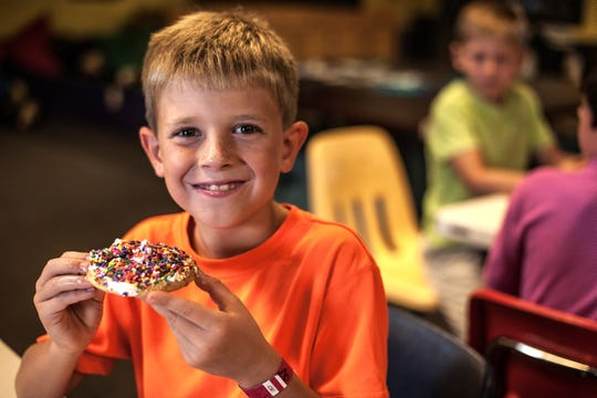 The activity center at Timber Ridge Lodge has activities such as cookie decorating for kids.