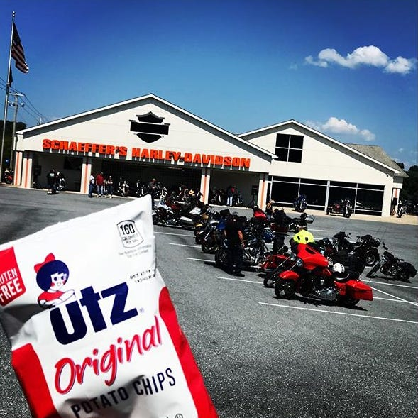 You know you are in Pennsylvania when you can get  Utz snacks.