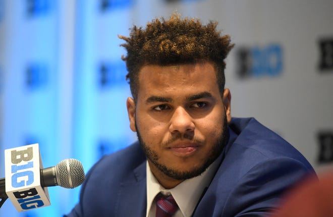 Wisconsin linebacker T.J. Edwards.